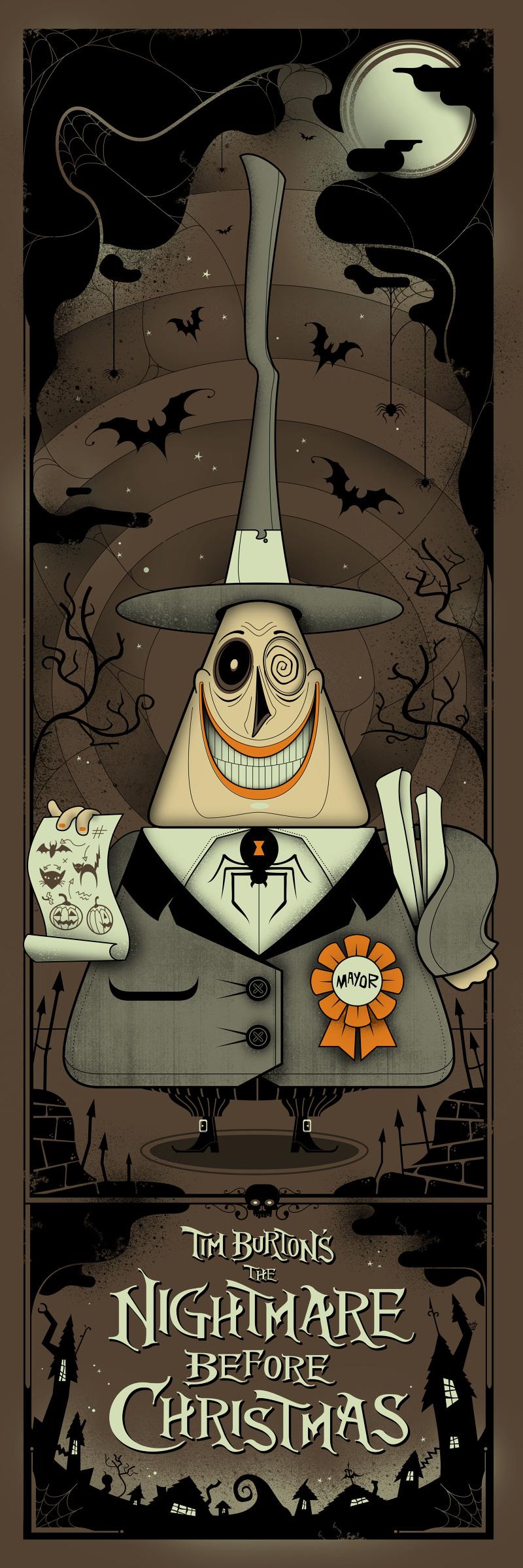 Nightmare Before Christmas: The Mayor - Graham Erwin ...